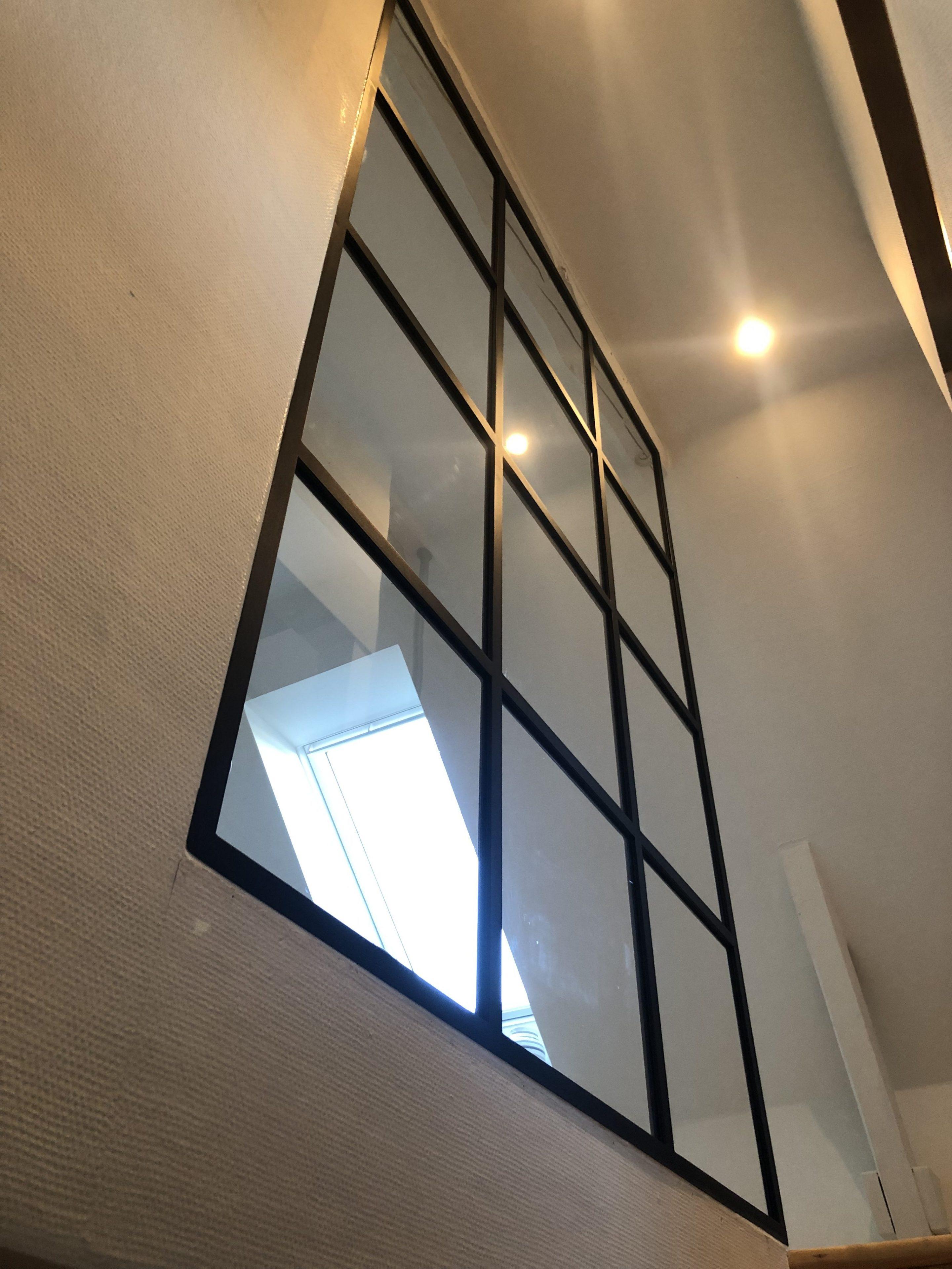glasvæg-new yorker væg-skillevæg-glasvaeg-trappe glasvæg