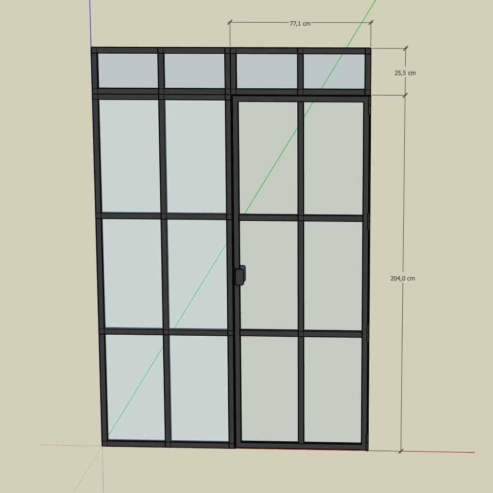 glasvæg-new yorker væg-newyorker væg-new yorker glasdør