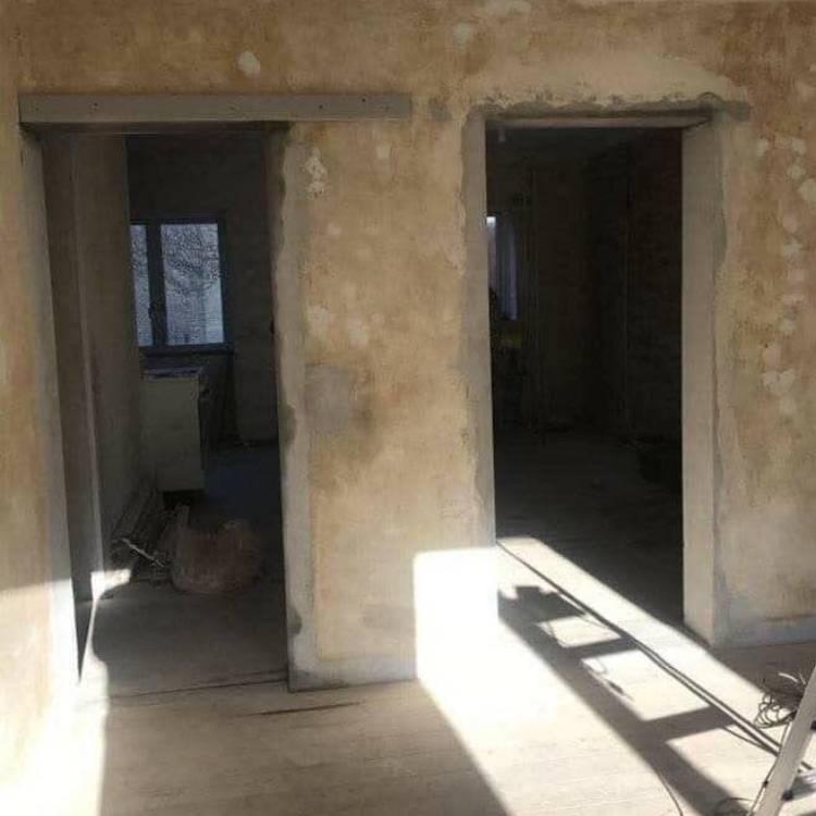 før og efter billeder-før og efter new yorker væg-new yorker væg installation